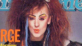 Boy George on May 2, 1984