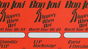 Bon Jovi on Aug 11, 1987