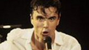 David Byrne on Dec 16, 1982