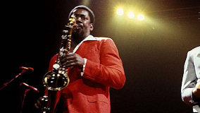 Clarence Clemons at Ripley's Music Hall on Jan 22, 1984