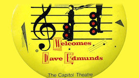 Dave Edmunds at Capitol Theatre on Jun 6, 1982