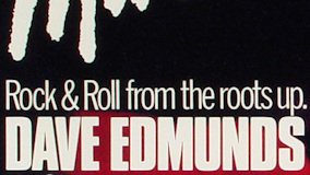 Dave Edmunds' All Star Rock N' Roll Revue at Warfield Theatre on Apr 7, 1990