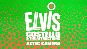 Elvis Costello &amp; the Attractions at Merriweather Post Pavilion on Aug 10, 1984