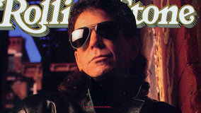 Lou Reed on Jan 14, 1989