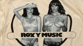 Roxy Music at City Hall on Oct 28, 1974