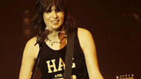 Chrissie Hynde on Feb 22, 1982