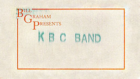 KBC Band at Ritz on Apr 3, 1987