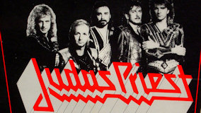 Judas Priest at Kansas City on May 22, 1986