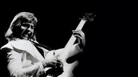 Greg Lake at Hammersmith Odeon on Nov 5, 1981