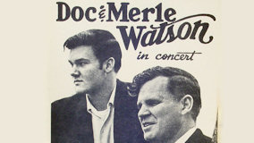 Doc Watson and Merle Watson at Bottom Line on Aug 13, 1977