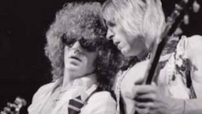 Ian Hunter With Mick Ronson on Aug 20, 1988