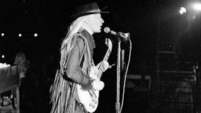 Johnny Winter at Selland Arena on Mar 31, 1974