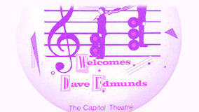 Dave Edmunds at Capitol Theatre on Dec 16, 1981
