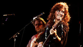 Bonnie Raitt at Auditorium Shores on May 25, 1987