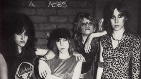 Girlschool at Brass A. on Jan 12, 1984