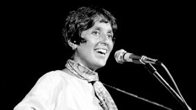 Joan Baez at Gannon College on Dec 10, 1972