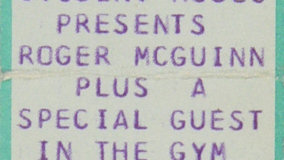 Roger McGuinn at Performance Center on Mar 11, 1974