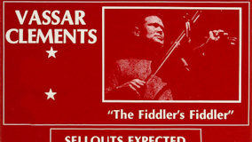 Vassar Clements at Memorial Union Center, University of New Hampshire on May 10, 1976