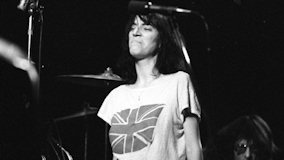 Patti Smith at Cellar Door on Jan 16, 1976