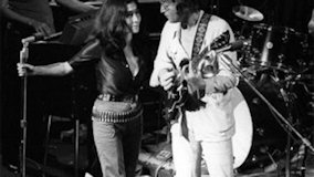 John Lennon and Yoko Ono on May 26, 1969