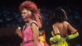 The Pointer Sisters at Michigan State Fairgrounds on Jul 2, 1985