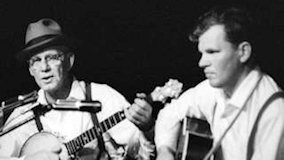 Clarence Ashley & Doc Watson at Ash Grove on May 9, 1963