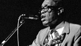 Lightnin' Hopkins at Ash Grove on May 8, 1966