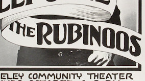 Rubinoos at Berkeley Community Theatre on May 24, 1980