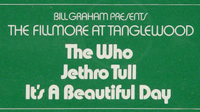 Jethro Tull at Tanglewood on Jul 7, 1970