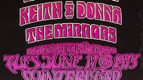 Mirrors at Winterland on Nov 7, 1975
