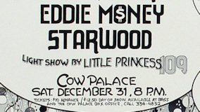 Eddie Money at Cow Palace on Dec 31, 1977