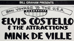 Elvis Costello &amp; the Attractions at Winterland on Jun 7, 1978