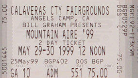 Mickey Hart & Planet Drum at Calaveras County Fairgrounds on May 30, 1999
