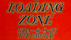 The Loading Zone at Fillmore Auditorium on Feb 9, 1968