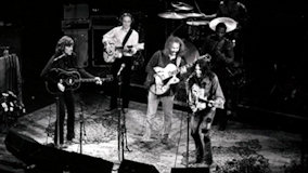 Crosby, Stills, Nash & Young at Fillmore East on Jun 4, 1970