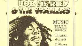 Bob Marley and the Wailers at Music Hall on Jun 8, 1978