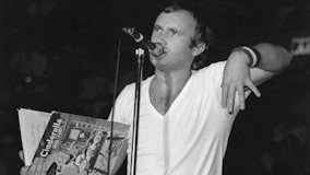 Phil Collins at Berkeley Community Theatre on Dec 16, 1982