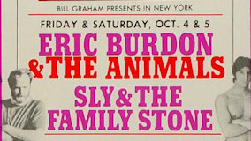 Sly & the Family Stone at Fillmore East on Oct 5, 1968