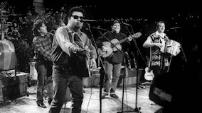 Los Lobos at Fillmore Auditorium on Dec 31, 1985