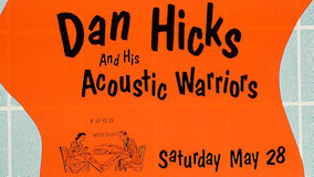 Dan Hicks & the Acoustic Warriors at Fillmore Auditorium on May 28, 1988