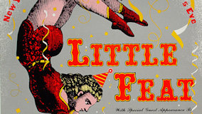Little Feat at Henry J. Kaiser Auditorium on Dec 31, 1988