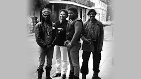 The Neville Brothers at Warfield Theatre on Feb 27, 1989
