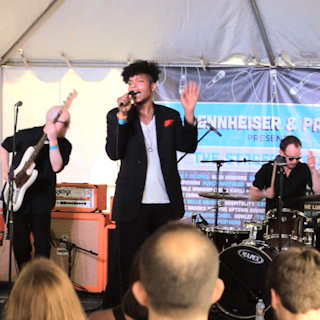 JC Brooks & the Uptown Sound at Outdoor Stage On Sixth on Mar 15, 2012