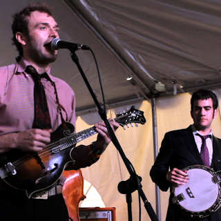 Punch Brothers at Outdoor Stage On Sixth on Mar 16, 2012