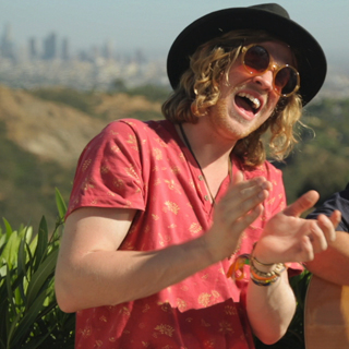 Allen Stone at Hollywood Hills Home on Apr 16, 2013