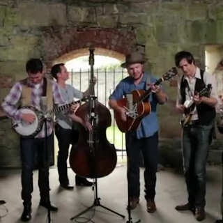 Old Crow Medicine Show at Paste Ruins at Newport Folk Festival on Jul 26, 2013