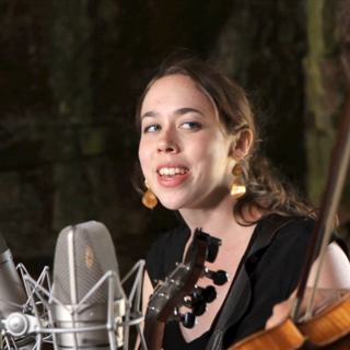 Sarah Jarosz at Paste Ruins at Newport Folk Festival on Jul 27, 2013