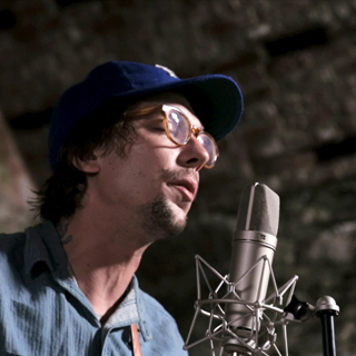 Justin Townes Earle at Hangout Music Festival on May 20, 2011