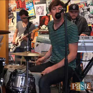 Mates of State at Paste Magazine Offices on Oct 6, 2011