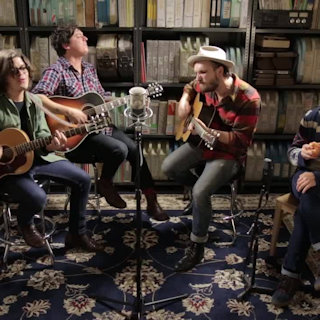 The Wild Feathers at Paste Studios on Jan 27, 2016